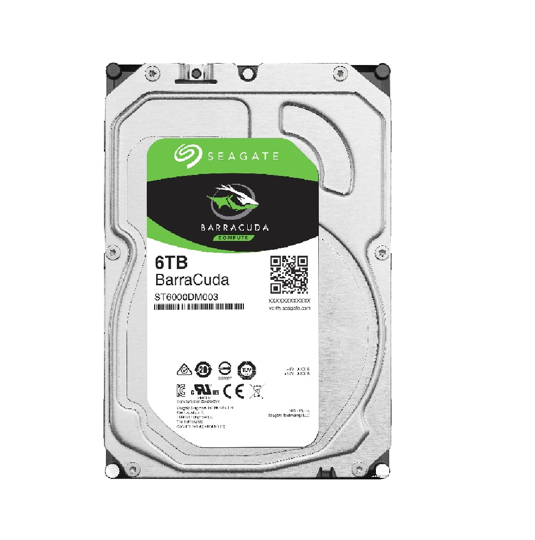 Жесткий диск HDD Seagate BarraCuda 6TB 7200rpm Original  | GE