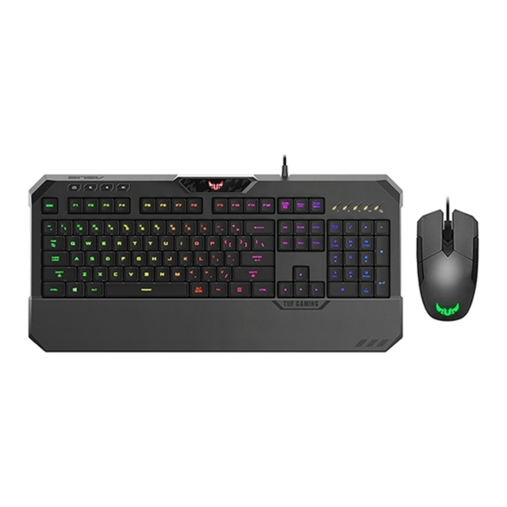 Клавиатура и мышь ASUS TUF Gaming Combo K5 & M5 Black USB