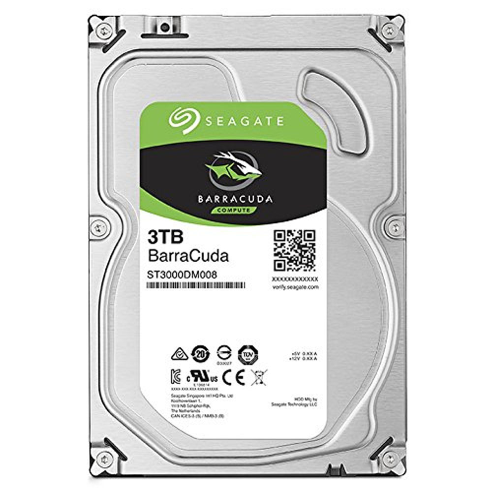 Seagate BarraCuda 3TB 7200rpm | MC